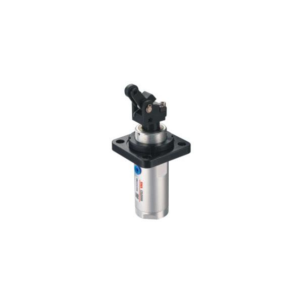 SWG系列杠杆式滚轮型阻挡气缸(高度可调复动型)