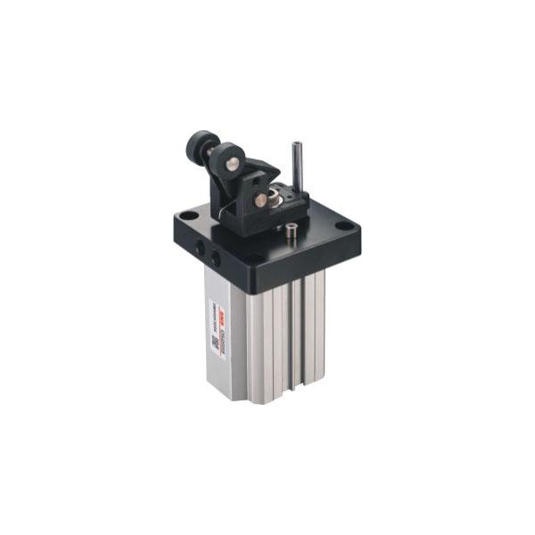 SWH、SWM系列杠杆式滚轮型阻挡气缸(复动型)