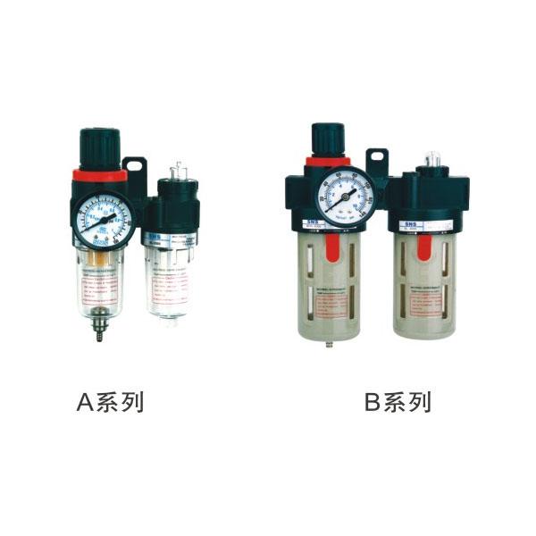 A、B系列调压过滤器组合二联件