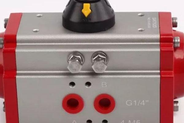 产品   双作用气动执行器