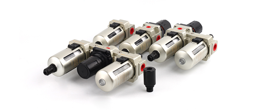 AC系列空气过滤器、调压过滤器 — 新型自动排水(零压力密封)获发明专利