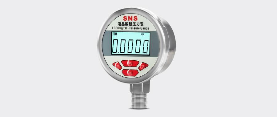 新品 | YZ-B100系列高精度智能数字压力表